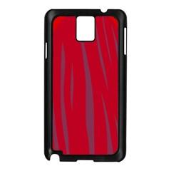 Hot Lava Samsung Galaxy Note 3 N9005 Case (black) by Valentinaart