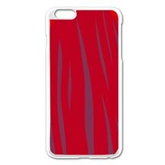Hot Lava Apple Iphone 6 Plus/6s Plus Enamel White Case by Valentinaart