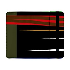 Colorful lines  Samsung Galaxy Tab Pro 8.4  Flip Case by Valentinaart