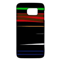Colorful Lines  Galaxy S6 by Valentinaart
