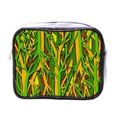 Upside Down Forest Mini Toiletries Bags by Valentinaart