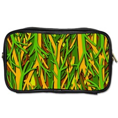 Upside Down Forest Toiletries Bags 2 Side by Valentinaart