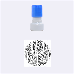 Upside Down Forest Rubber Round Stamps (small) by Valentinaart