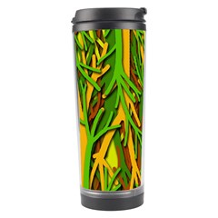 Upside Down Forest Travel Tumbler by Valentinaart