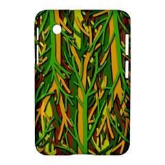 Upside Down Forest Samsung Galaxy Tab 2 (7 ) P3100 Hardshell Case  by Valentinaart