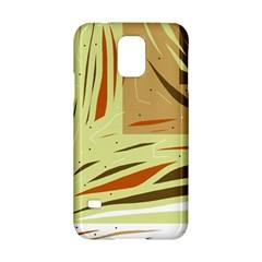 Brown Decorative Design Samsung Galaxy S5 Hardshell Case  by Valentinaart