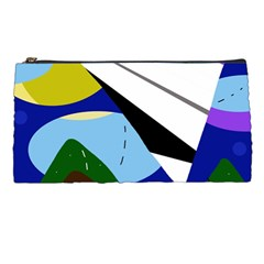 Paper Airplane Pencil Cases by Valentinaart
