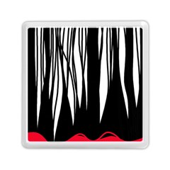 Black Forest Memory Card Reader (square)  by Valentinaart