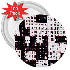 Abstract City Landscape 3  Buttons (100 Pack)  by Valentinaart