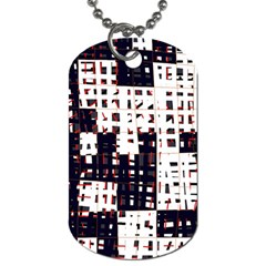 Abstract City Landscape Dog Tag (two Sides) by Valentinaart