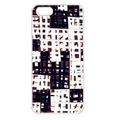 Abstract City Landscape Apple Iphone 5 Seamless Case (white) by Valentinaart