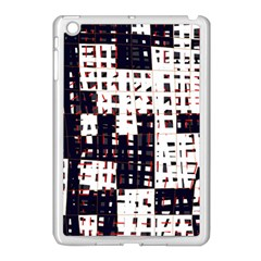 Abstract City Landscape Apple Ipad Mini Case (white) by Valentinaart
