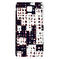 Abstract City Landscape Galaxy Note 4 Back Case by Valentinaart