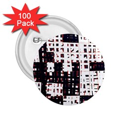 Abstract City Landscape 2 25  Buttons (100 Pack)  by Valentinaart