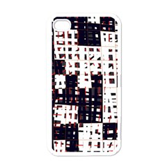Abstract City Landscape Apple Iphone 4 Case (white) by Valentinaart