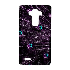 Bird Color Purple Passion Peacock Beautiful LG G4 Hardshell Case by Zeze