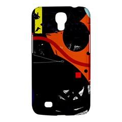 Orange Dream Samsung Galaxy Mega 6 3  I9200 Hardshell Case by Valentinaart