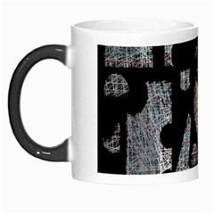 Elegant Puzzle Morph Mugs by Valentinaart