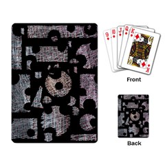 Elegant Puzzle Playing Card by Valentinaart