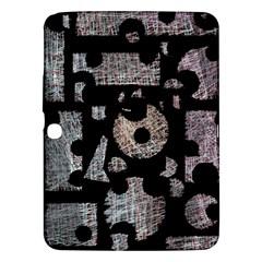 Elegant Puzzle Samsung Galaxy Tab 3 (10 1 ) P5200 Hardshell Case  by Valentinaart