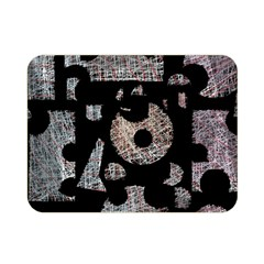 Elegant Puzzle Double Sided Flano Blanket (mini)  by Valentinaart