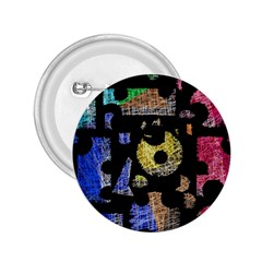 Colorful Puzzle 2 25  Buttons by Valentinaart