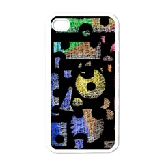 Colorful Puzzle Apple Iphone 4 Case (white) by Valentinaart