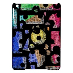 Colorful Puzzle Ipad Air Hardshell Cases by Valentinaart