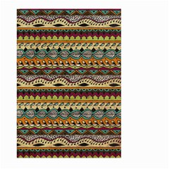 Aztec Pattern Ethnic Large Garden Flag (Two Sides) by Zeze