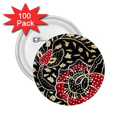 Art Batik Pattern 2.25  Buttons (100 pack)  by Zeze