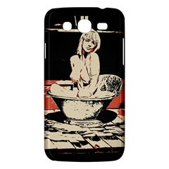 23 Sexy Conte Sketch Girl In Dark Room Naked Boobs Bathing Country Samsung Galaxy Mega 5 8 I9152 Hardshell Case  by PeterReiss