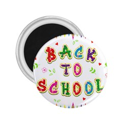 Back To School 2.25  Magnets by Zeze