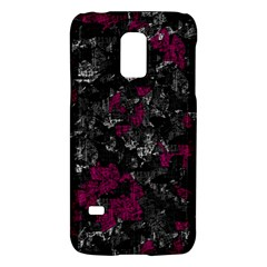 Magenta And Gray Decorative Art Galaxy S5 Mini by Valentinaart