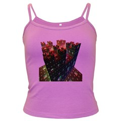 Abstract Building Fractal Dark Spaghetti Tank by Zeze