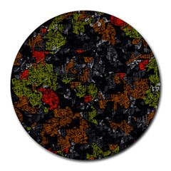 Autumn Colors  Round Mousepads by Valentinaart