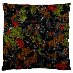 Autumn Colors  Large Flano Cushion Case (one Side) by Valentinaart