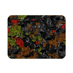Autumn Colors  Double Sided Flano Blanket (mini)  by Valentinaart