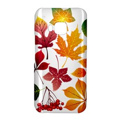 Beautiful Autumn Leaves Vector HTC One M9 Hardshell Case by Zeze