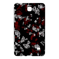 Red, White And Black Abstract Art Samsung Galaxy Tab 4 (8 ) Hardshell Case  by Valentinaart