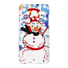 Snowman Samsung Galaxy A5 Hardshell Case  by Valentinaart