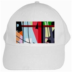 Window White Cap by Valentinaart