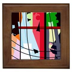 Window Framed Tiles by Valentinaart