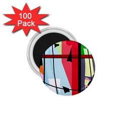 Window 1 75  Magnets (100 Pack)  by Valentinaart