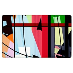 Window Apple Ipad 3/4 Flip Case by Valentinaart