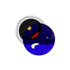 Night Duck 1 75  Magnets by Valentinaart