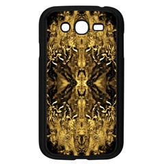 Beautiful Gold Brown Traditional Pattern Samsung Galaxy Grand Duos I9082 Case (black)
