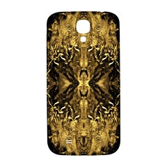 Beautiful Gold Brown Traditional Pattern Samsung Galaxy S4 I9500/i9505  Hardshell Back Case