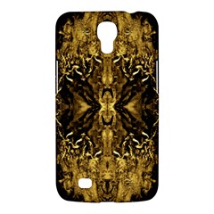 Beautiful Gold Brown Traditional Pattern Samsung Galaxy Mega 6.3  I9200 Hardshell Case by Costasonlineshop