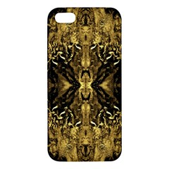 Beautiful Gold Brown Traditional Pattern Iphone 5s/ Se Premium Hardshell Case