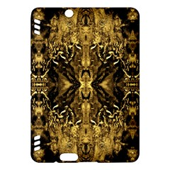 Beautiful Gold Brown Traditional Pattern Kindle Fire Hdx Hardshell Case